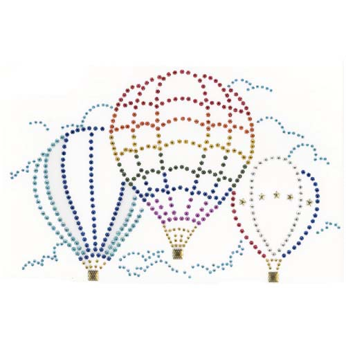 S1961MA  - MEDUIM SIZE 3 HOT AIR BALLOON, BALLOONS